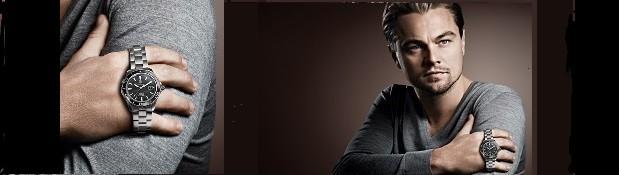 Leonardo Di Caprio a hodinky Tag Heuer